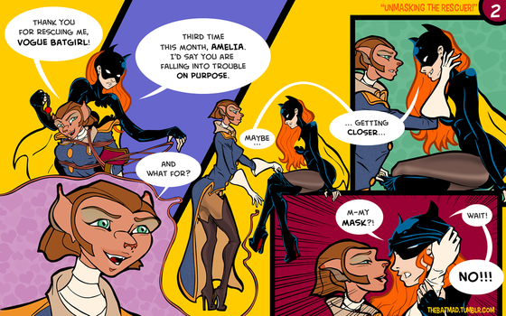 Captain Amelia and Vogue Batgirl - 02 by BatMad