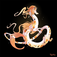 Koi Fish Dragon #49 by Mythka