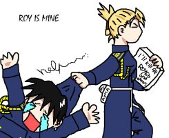Riza says : Roy is MINE by Ayma1