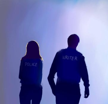 a writer and a cop by Night-of-Fire