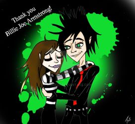 Thank you Billie Joe Armstrong ! by angie2d