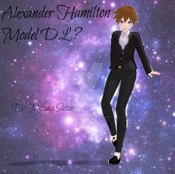 Alexander Hamilton MMD Model (DL?) by MitunaSatan