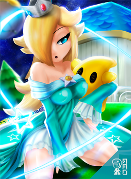 Rosalina_Super Mario Galaxy by GeoExe