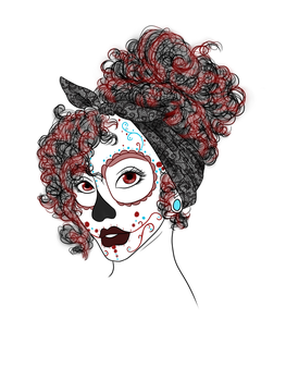Muerta Tattoo Design by SweetSketching