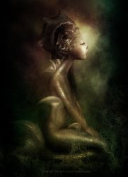 The Last Mermaid by CindysArt
