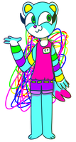 ribbon pop by cookiedere