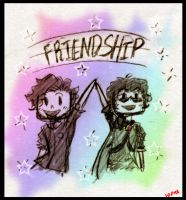 Adam and Sky - FRIENDSHIP by MotherofOnity