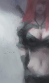 Brooding (League of Legends) by Alex-Chow