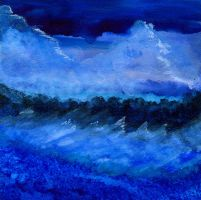 Stormy Sea by peggymintun