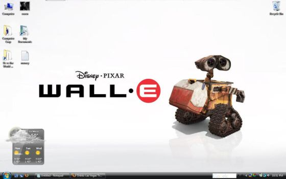 WALL-E Wallpaper by VML