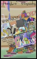 MLP : What About Discord - Movie Poster by pims1978