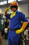 Captain Falcon at FACTS 2015 by KillingRaptor