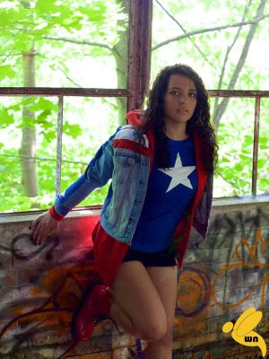 Miss America Chavez - Warehouse Windows by AnaGraceCosplay