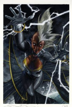 STORM #1 cover by simonebianchi