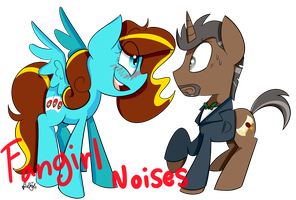 FANGIRL NOISES by BefishProductions