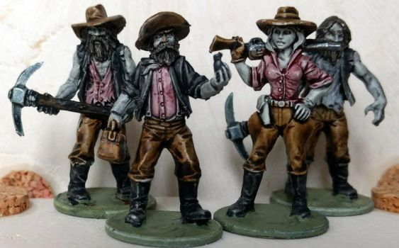 Cursed Prospectors by Spielorjh
