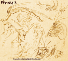 Prowler Sketches by MutantParasiteX