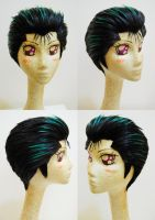 Yuusuke Wig Commission by Pisaracosplay