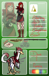 Starling the Skyloftian Scout by PinkSheDemon