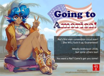 Going to america by The-Nai
