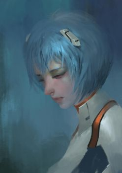 ayanami Rei by Midfinger