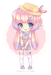 [SOLD!]: Kemonomimi Adoptable by Nukababe