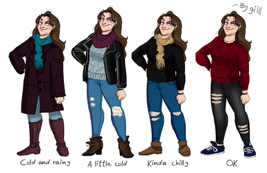 Winter outfits! by gilll