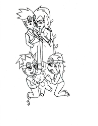 Jack, Wuya, JJ and May by RSforsevers