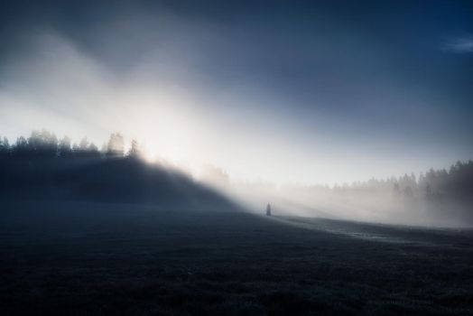 Alone in the Light by MikkoLagerstedt
