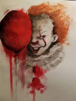 pennywise (IT) by Munken8