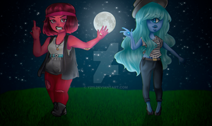 Ruby And Sapphire by Y211