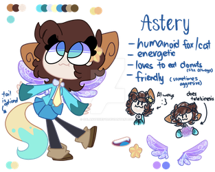 |OC| Astery Galaxy Reference Sheet by GalaxyPixies45