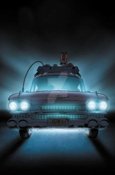 Ecto-1 by BlondTheColorist