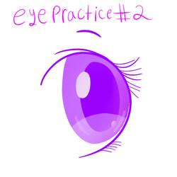 Eye Practice 2 by puppylover17YT45