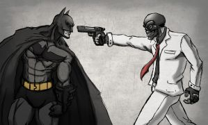 The Bat and the Mask - Sketch by Dee-Pathirana