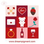 Valentines Day Icons 2019 by DreamPigment