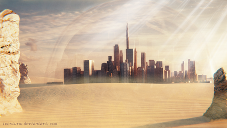 Desert City by Icesturm