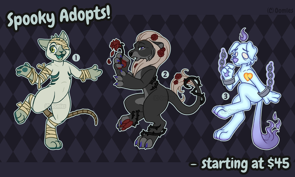Spooky Adopts Auction! [CLOSED] by OEmilyThePenguinO