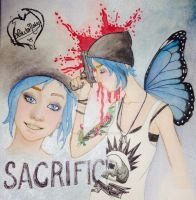 Life is Strange - Chloe  is sacrifice by Lokita-Naky