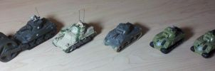 US Shermans by Panzer-13