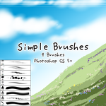 Simple Brushes by kabocha