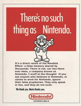 There's No Such Thing As Nintendo by Hbombindustries
