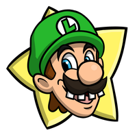 Mario Party - Luigi Party Star by EnterMEUN