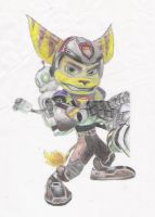 ratchet and clank by tin23uk
