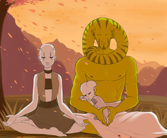 At peace by MoonlitAlien