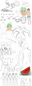SketchDump by Killerwolf19