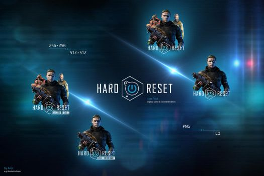 Hard Reset Icon Pack by A-Gr