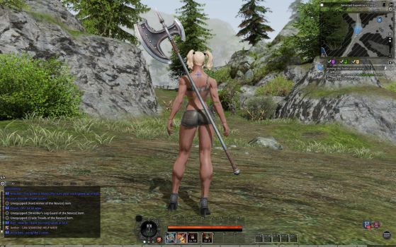 Bless Online: Buff Berserker... with no armor XD by Tigersan