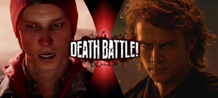 Delsin Rowe VS Anakin Skywalker by TheLocalPieceOfShite