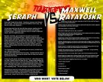 Tournament Match 11: Seraph vs Maxell by Dreamkeepers
